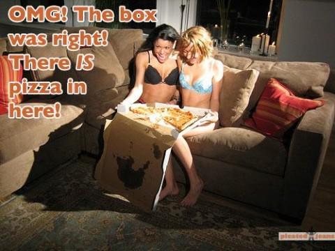 Самая сексуальная доставка пиццы  14725