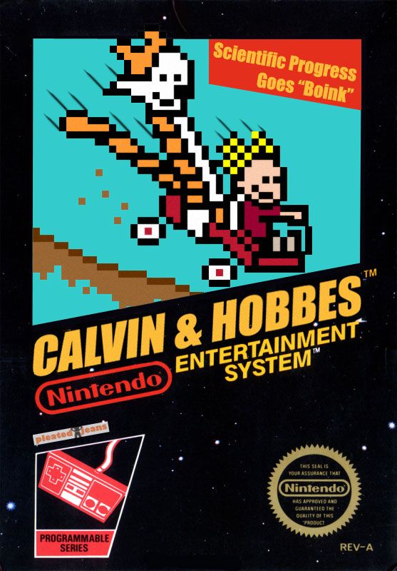 Calvin And Hobbes Nintendo Video Game