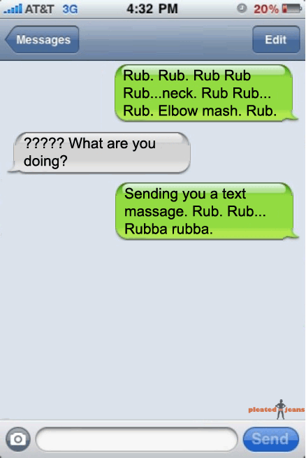 Funny Text Message Pic