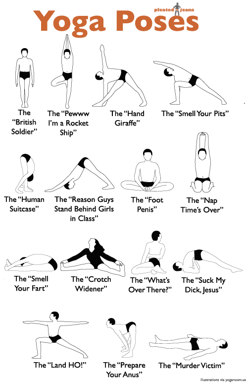 Gallery For gt Yoga Poses And Names Kids