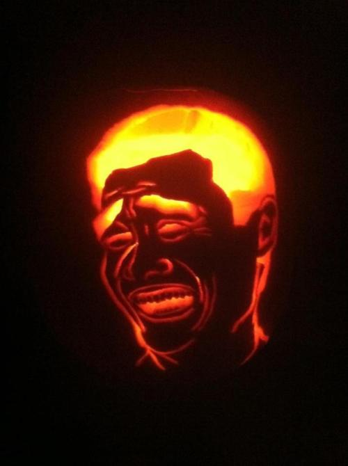 Pics Photos  Internet Meme Pumpkin Carvings Which One S Your Fave
