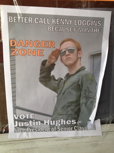 Funny Student Election Posters 1 Pleated Jeans