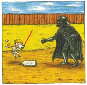 Darth Vader and Son by Jeffrey Brown (9)