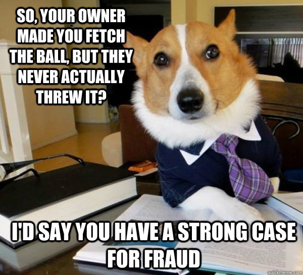 Lawyer Dog Memes Best of The Lawyer Dog Meme