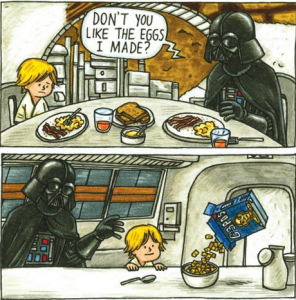 Darth Vader and Son by Jeffrey Brown (5)