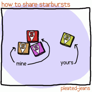 how-to-share-starbursts