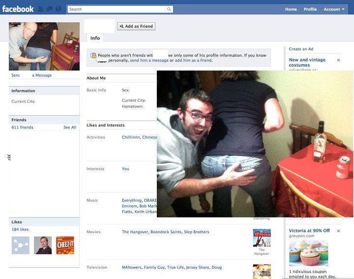 В facebook как поставить на аву в
