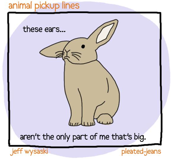 Round 2 Animal Pickup Lines