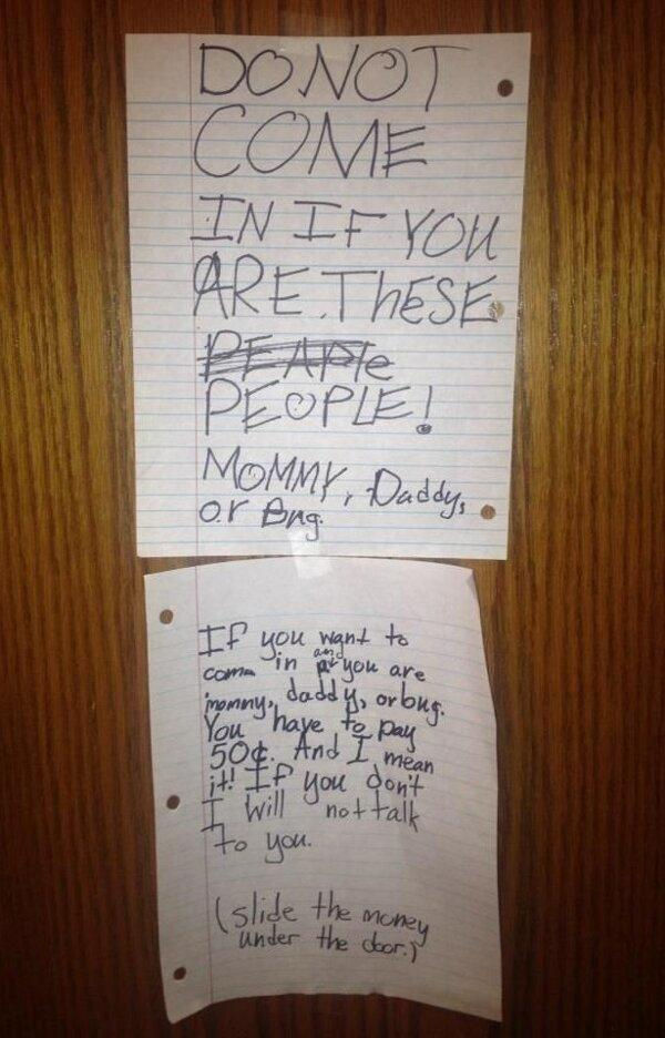 Kids Say The Darndest Things  24 Pics