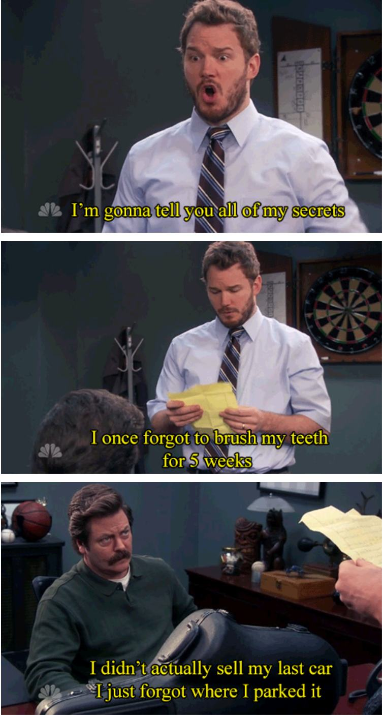 24 of Andy Dwyer\'s Greatest Moments on Parks and Rec
