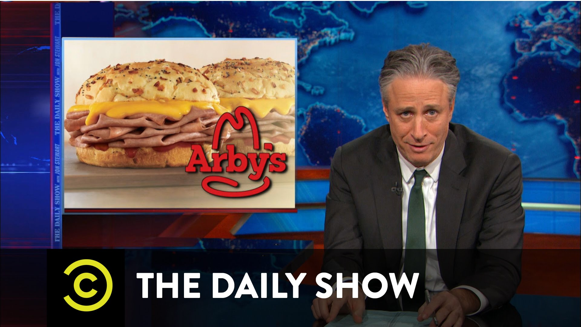 Arby S Funny: Arby's Says Goodbye To Jon Stewart