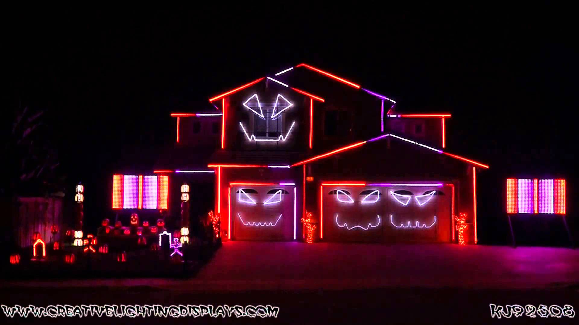 Halloween themed light show 2015 pleated jeans - Halloween laser light show ...