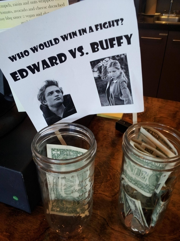 26 Genius Tip Jars Designed To Get People To Give More Money