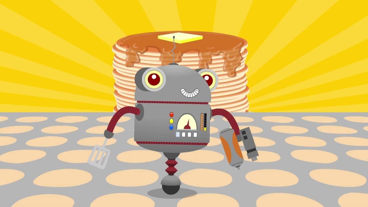 pancake robot by parry gripp