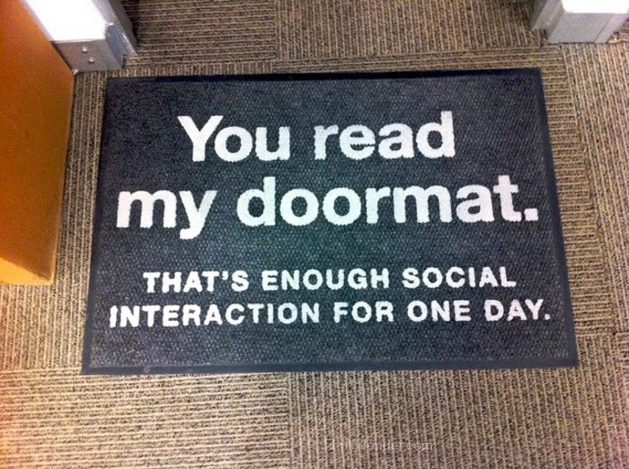 20 Hilarious And Creative Doormats