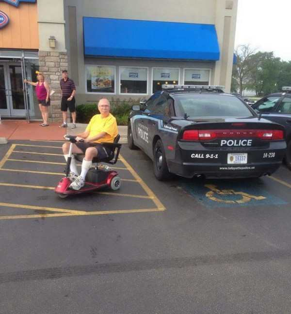 12 Jerks Who Took The Handicap Spot Pleated Jeans