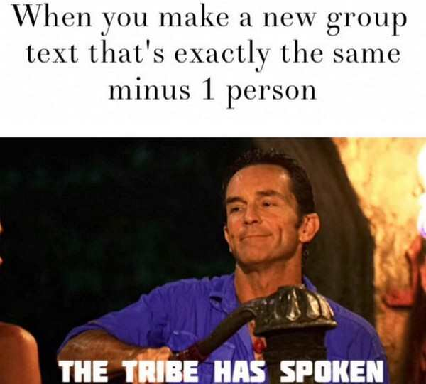 17 relatable memes about group chats pleated jeans