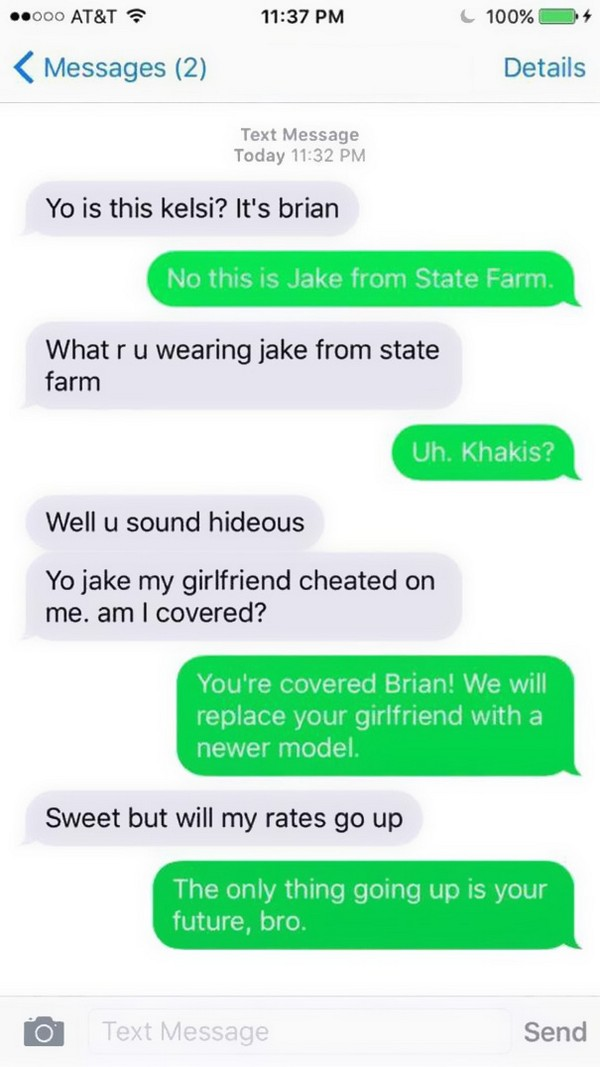 24 Funny Wrong Number Texts
