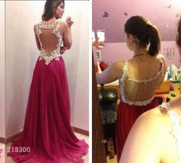 19 Bad Prom Dresses Ordered Online