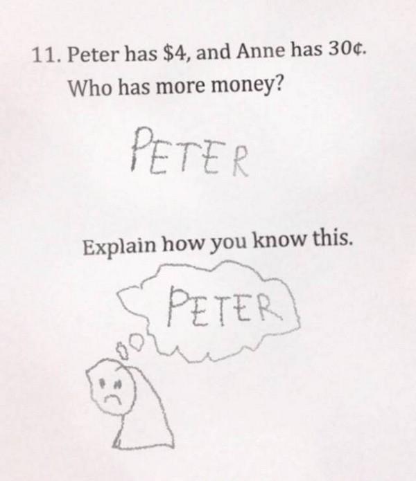 18 Funny Bad Homework Answers