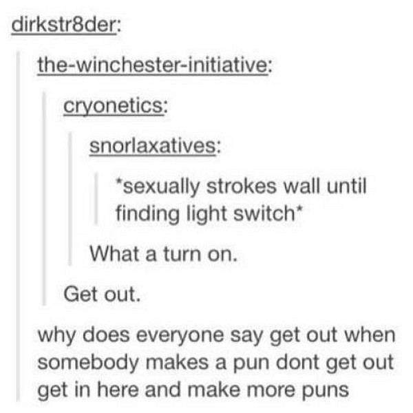 23 Terrible, Awful, and Bad Puns from Tumblr   Pleated Jeans