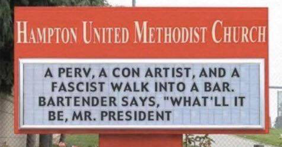 35 Hilarious Church Signs That Are Also Kinda Genius