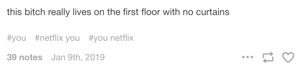 Pngs Tumblr 2019: 20 Funny Tumblr Posts About Netflix's 'You
