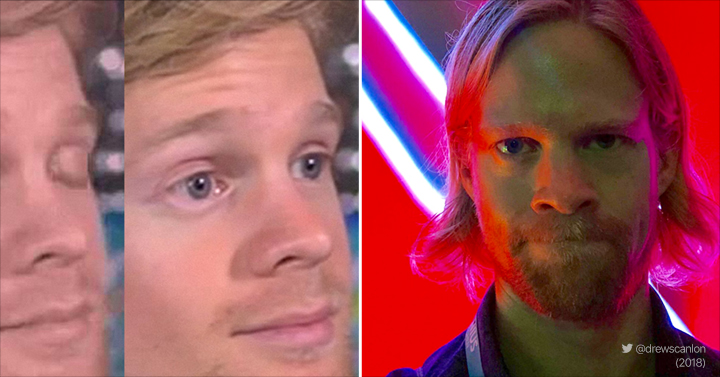 meme faces famous got blinking guy drew known scanlon today reaction widely still barnorama izismile