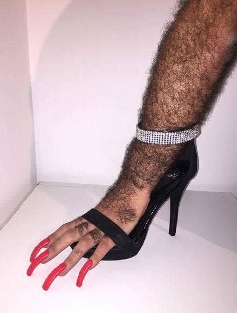 cringe high heels, cringey high heels, cursed high heels, cursed high heel image, cursed high heel picture