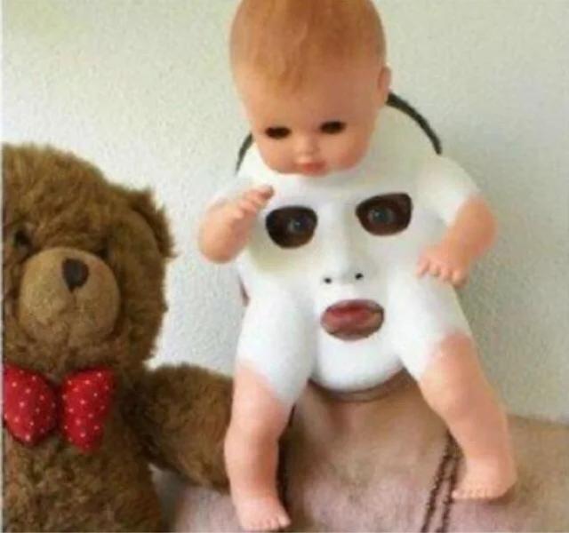 cursed baby mask, cursed doll mask, cursed doll mask image, cursed baby mask image