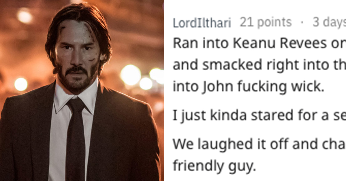 19 People Share The Times They Talked To A Celebrity For More Than 30 Seconds