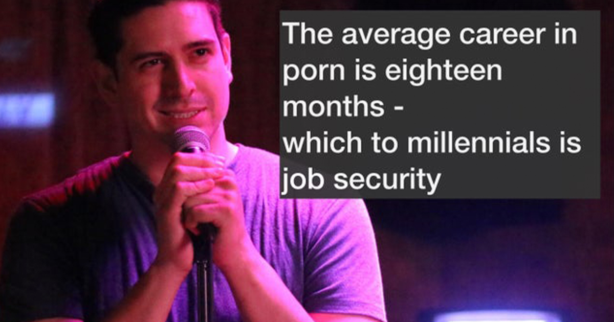 Stand-Up For Short Attention Spans (17 Pics)