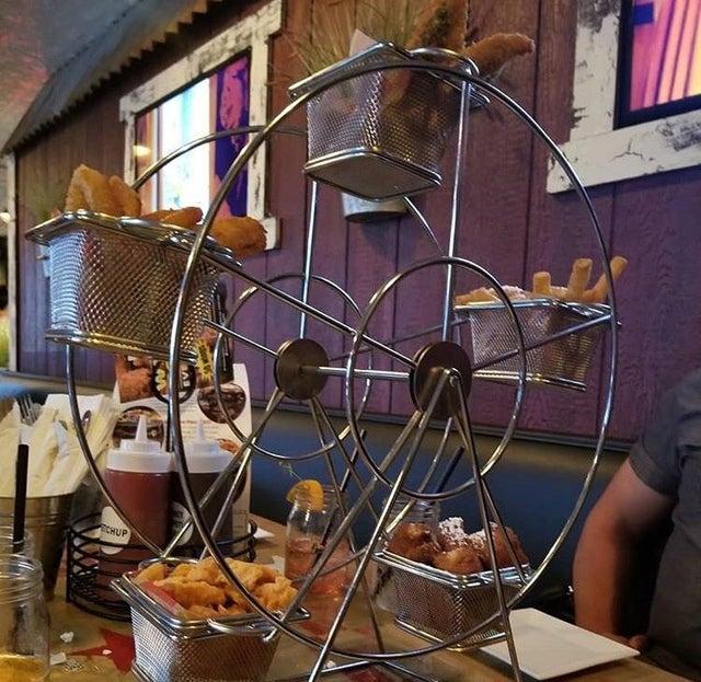 We Want Plates - ferris wheel