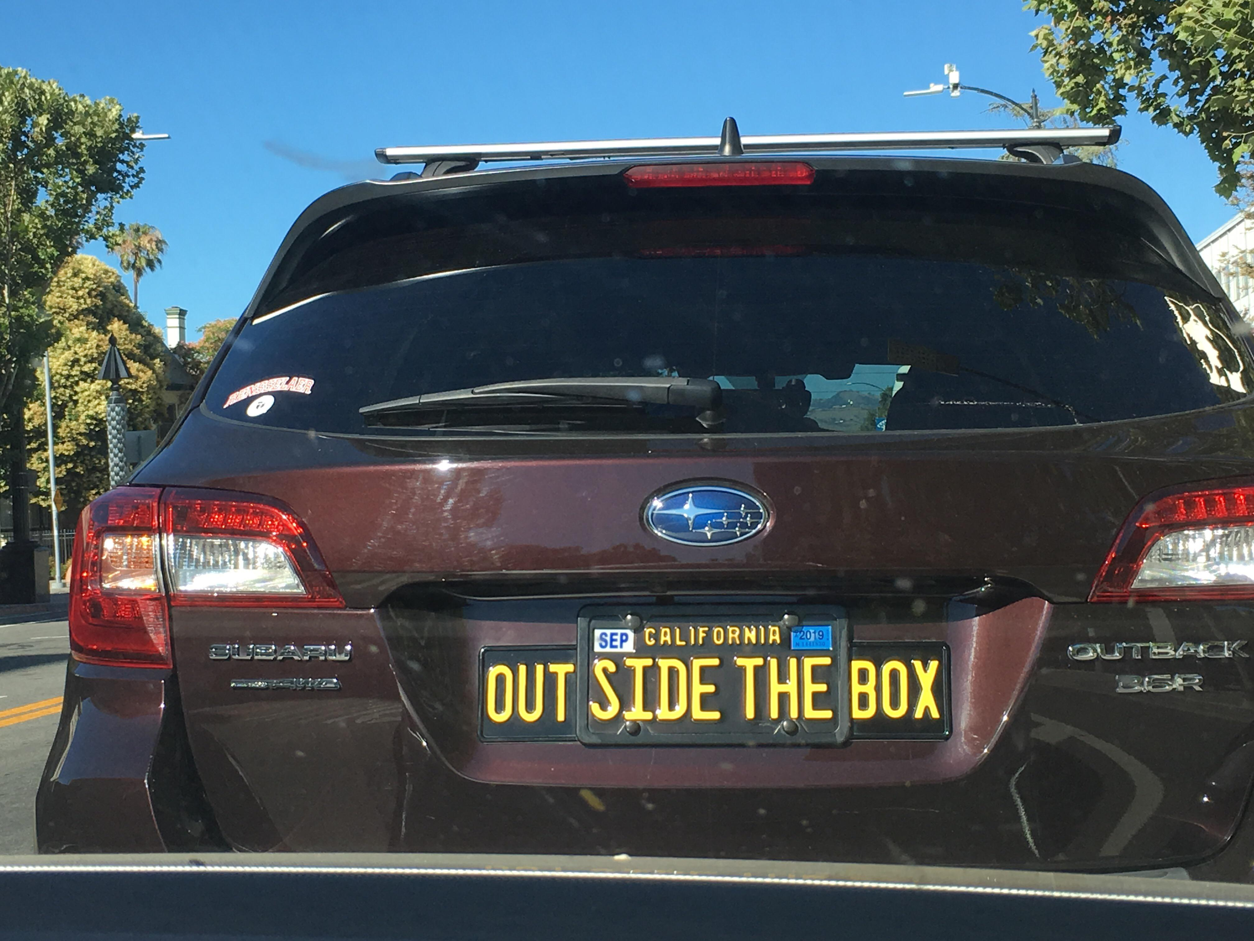 If You Re Going To Have A Vanity Plate Really Go For It 25 Funny License Plates