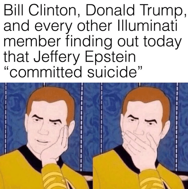 It Was Only A Matter Of Time Before Jeffery Epstein's ...