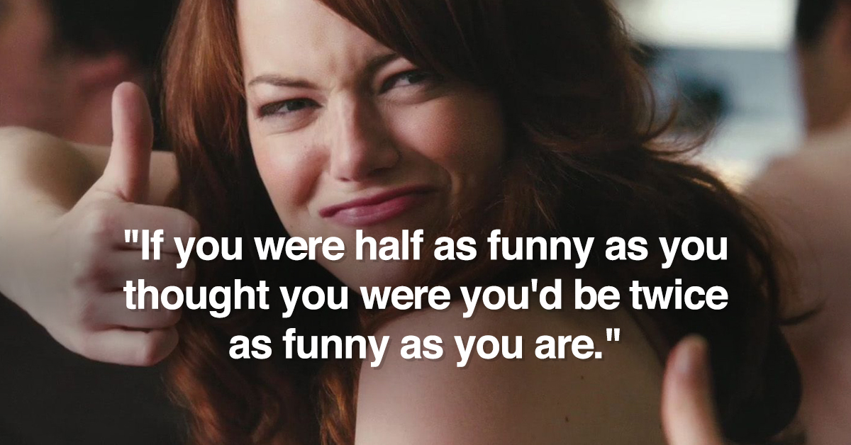 Clever Insults Hurt The Most (17 Pics)