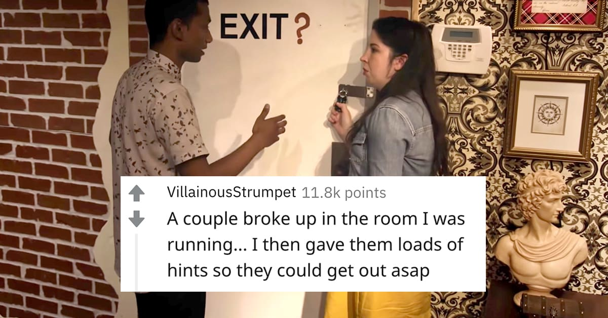 Escape Room Employees Share The Weirdest Things They've Witnessed Through The Cameras
