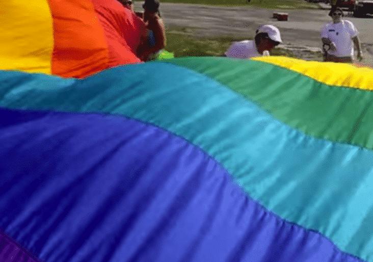 pride flag was worlds largest flag, gay pride fact, gay pride facts, pride month facts, pride month fact, pride month, gay pride, lgbt pride fact, lgbt pride month