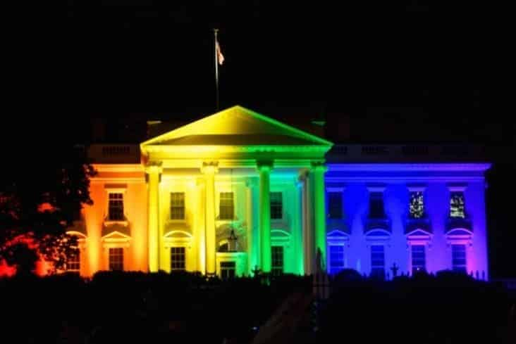 white house pride lights, white house gay pride lights, white house lgbt pride lights, white house lgbtq pride lights