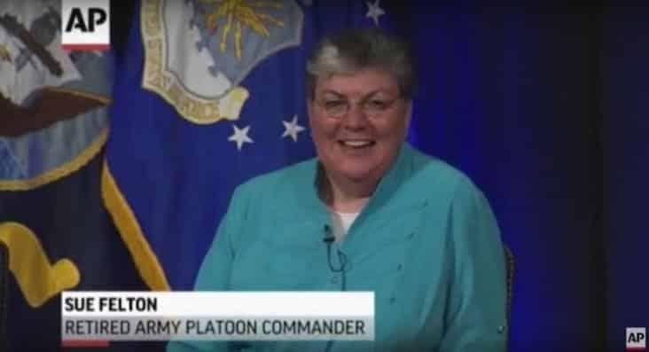 sue felton, sue felton retired army platoon commander
