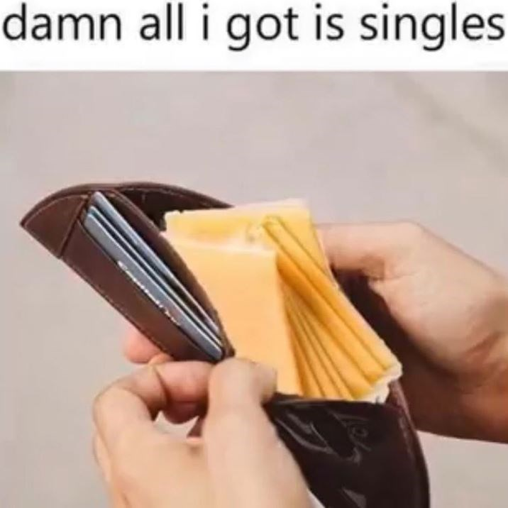 all i got is singles meme, all i got is singles cheese meme, broke meme, broke memes, funny broke meme, funny broke memes, being broke meme, being broke memes, being poor meme, being poor memes, poor meme, poor memes, having no money meme, no money meme, no money memes, having no money memes, funny being poor meme, funny poor meme, funny being poor memes, funny poor memes, funny no money meme, funny no money memes, no money jokes, having no money joke, being broke joke, no money joke
