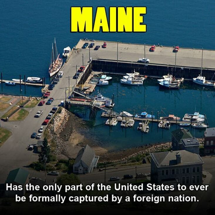 embarrassing fact about maine, maine embarrassing fact