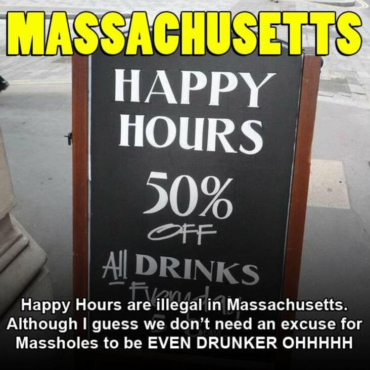 embarrassing fact about massachusetts, Massachusetts embarrassing fact
