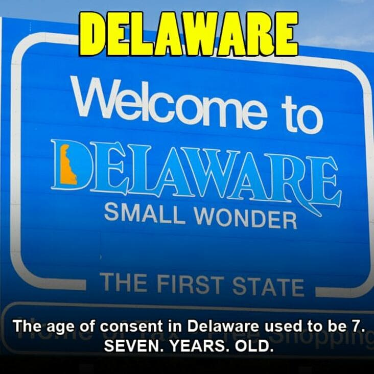 embarrassing fact about delaware, delaware embarrassing fact
