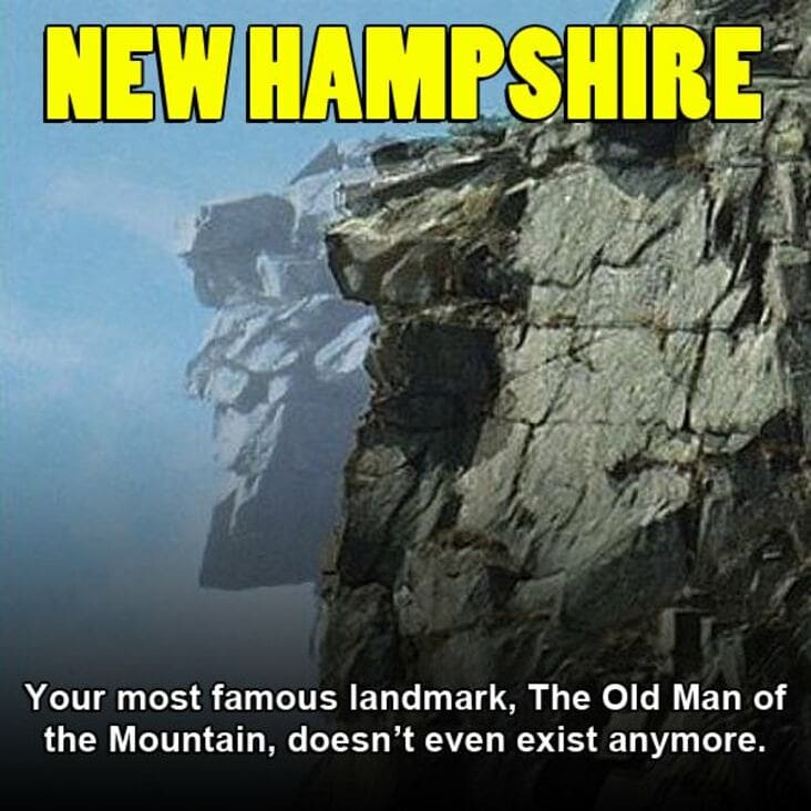 embarrassing fact about new hampshire, new hampshire embarrassing fact