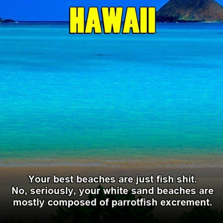 hawaii embarrassing fact, embarrassing fact about hawaii