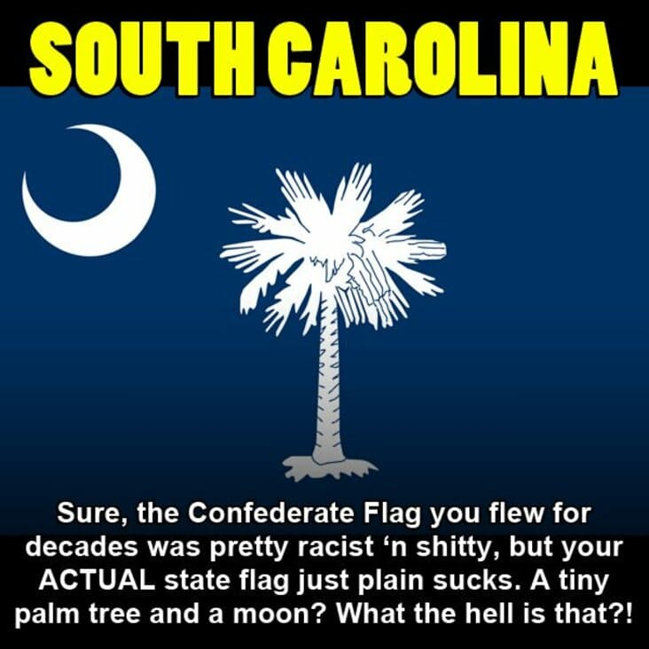embarrassing fact about south carolina, south carolina embarrassing fact