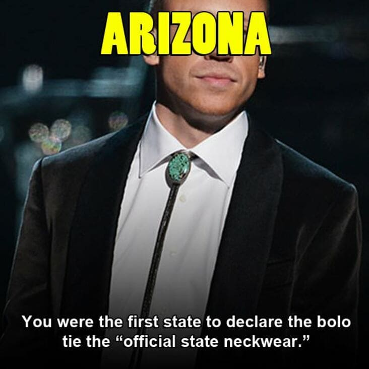 embarrassing fact about arizona, embarrassing arizona fact, arizona embarrassing fact