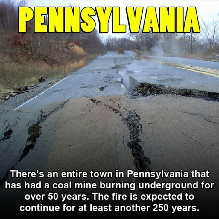embarrassing fact about Pennsylvania, Pennsylvania embarrassing fact
