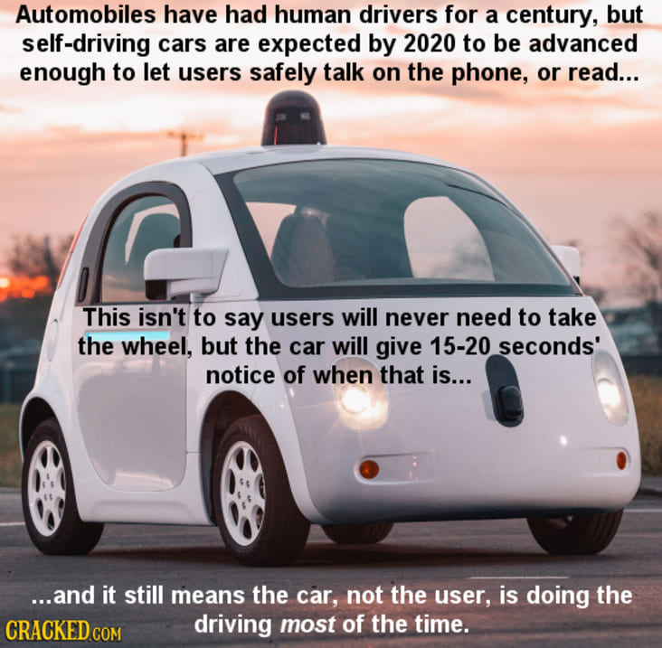 human drivers to become obsolete